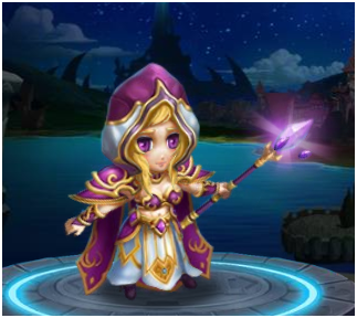 dnf女魔法师可爱图
