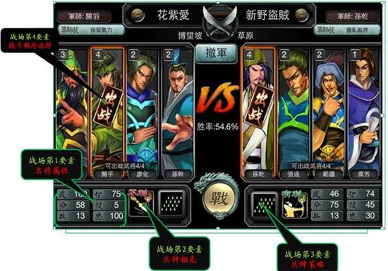 《三国霸王大陆》手游 战斗操控图文说明