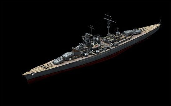 《战舰帝国》手游 五星级战舰俾斯麦号怎么样介绍