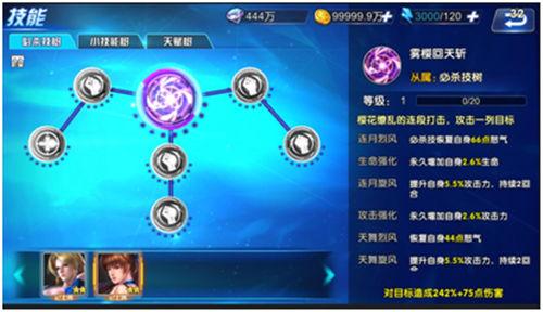 《生死格斗5无限》手游 技能系统介绍