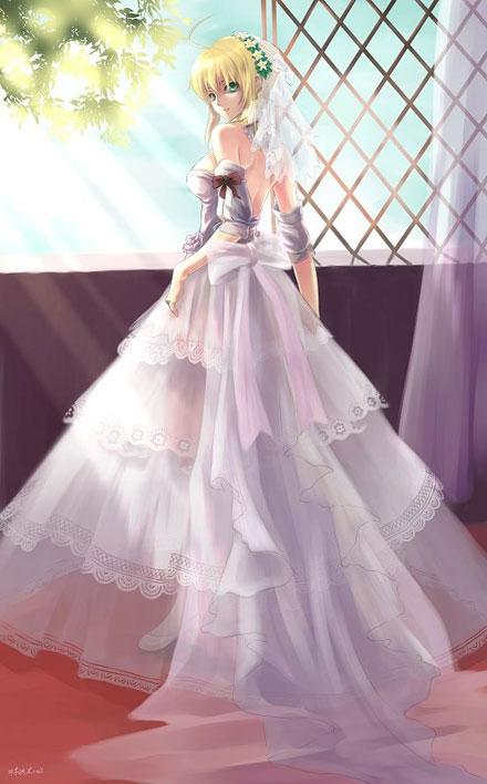 二次元婚纱美少女图集(2)