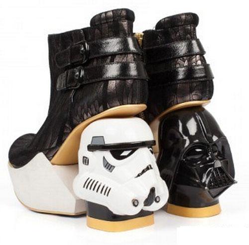 《星球大战》主题高跟女鞋图赏