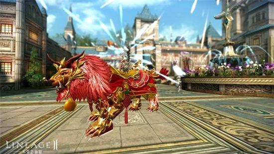 《天堂2:血盟》春节坐骑曝光,霸气侧漏万众瞩目!